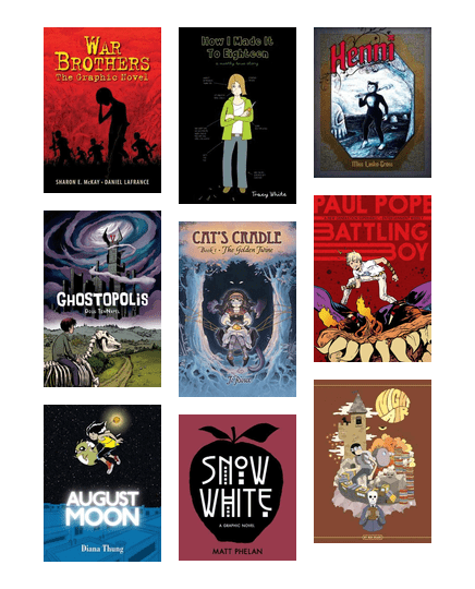 teen graphic novels