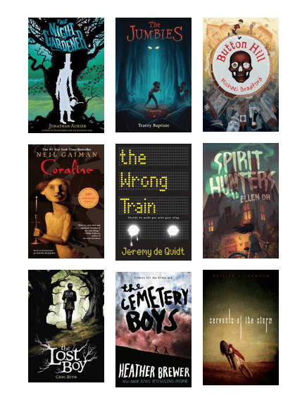Scary Stories for Middle and High School Readers | Princeton Public