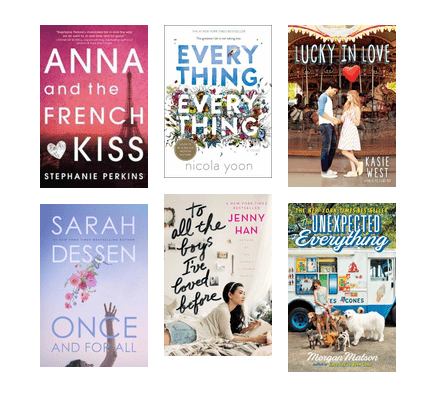 BostonPL_Shelf-Service: Teen Romance | King County Library