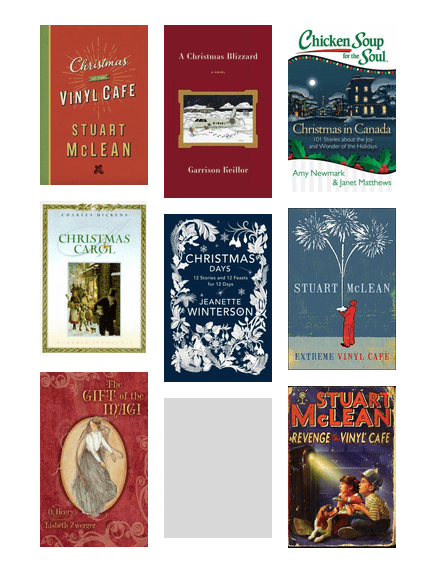 Oakville Reads: Christmas at the Vinyl Cafe