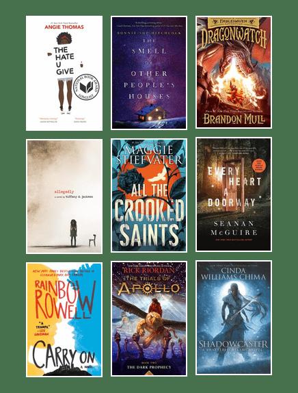 Sno Isle Staff S 2017 Favorite Teen Books Austin Public Library