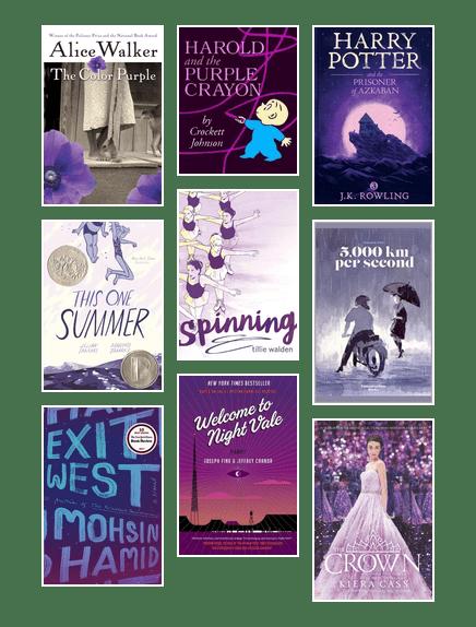 Purple Picks inspired by Pantone | Multnomah County Library ...