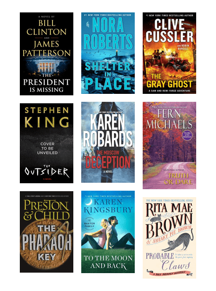 Bestsellers Coming Soon January 2018 | Tacoma Public Library