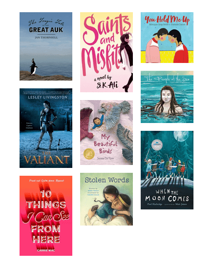 Quill & Quire 2017 Book of the Year (Children & Teen)
