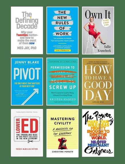 Best Career Advice Book for Millennial Women | Fraser Valley