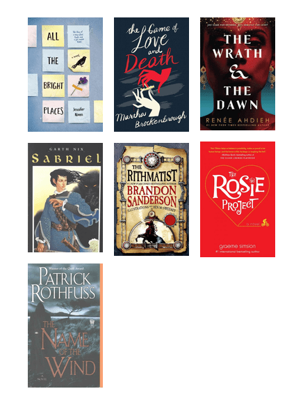 Kcls Bookmatch Unorthodox Romance Or Fantasy The Seattle Public Library Bibliocommons