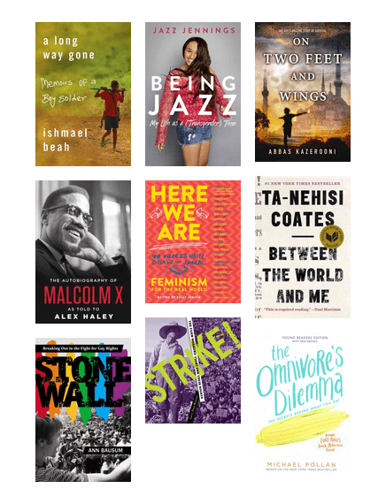Nonfiction for teens will
