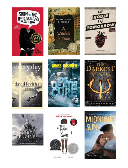 Cmlibrary Suggests Ya Books To Movies 2018 King County Library