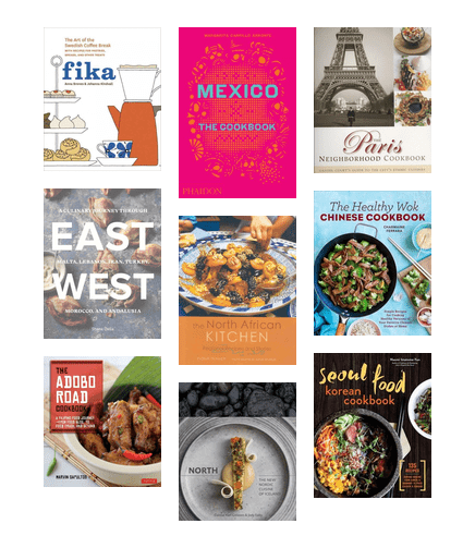 Global Cuisine Cookbooks From Around The World King County
