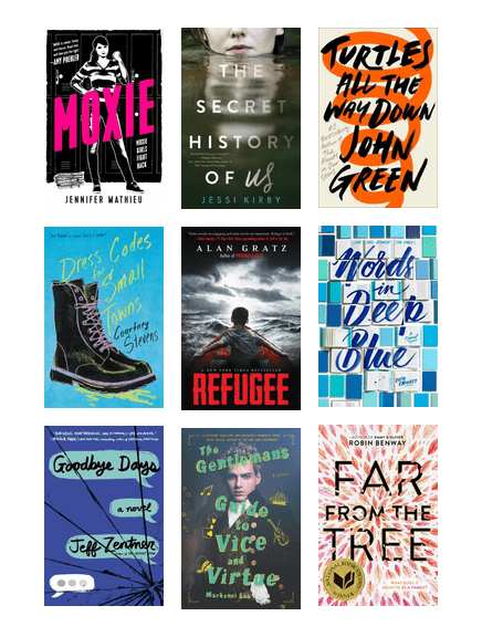 Ya What S New Best Fiction 2018 Austin Public Library Bibliocommons