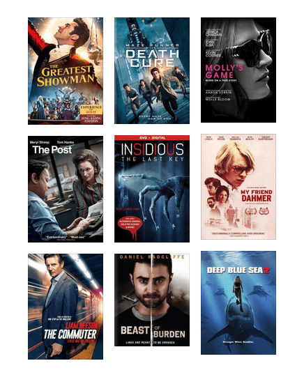 New Movies - April 2018 | Central Arkansas Library System