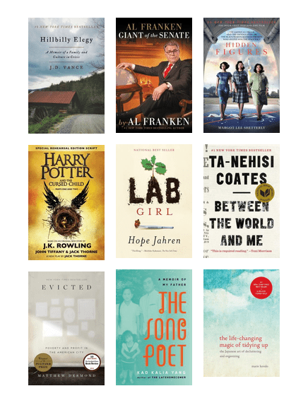 Sppl S Most Popular Nonfiction Books In 2017 Edmonton Public