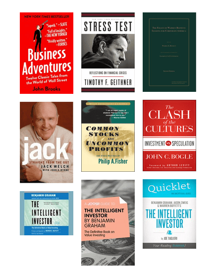 Investment books recommended by warren buffett legal and general glassdoor direct investments