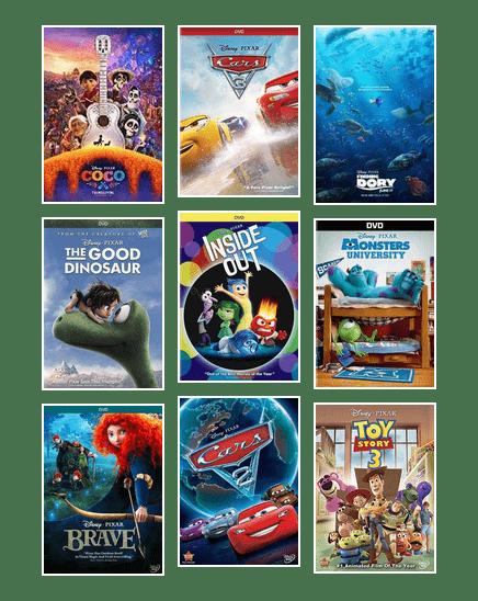 Pixar Favorites Chicago Public Library Bibliocommons