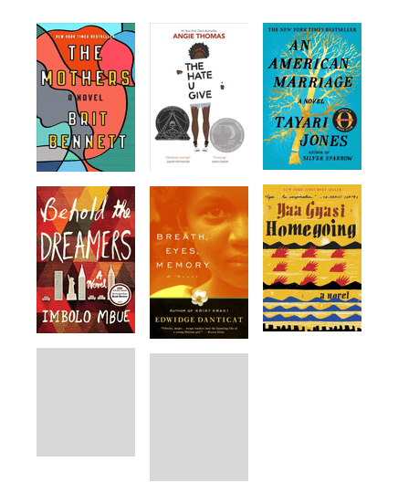 KCLS BookMatch: Realistic Novels with Superb Use of Language