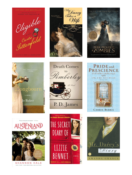 Pride and Prejudice Sequels, Variations, and Adaptations | The