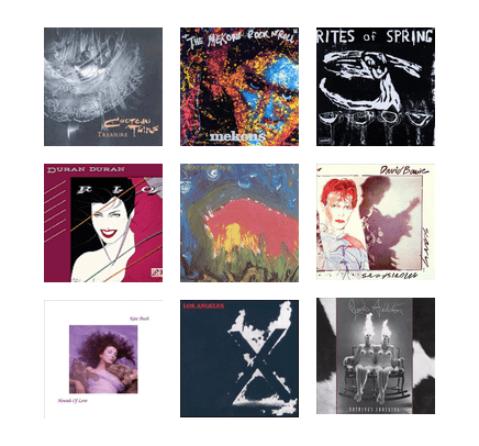 Pitchfork's Top Albums of the 1980s (Old Version