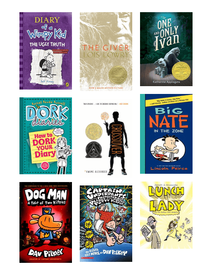 Great reads for young readers