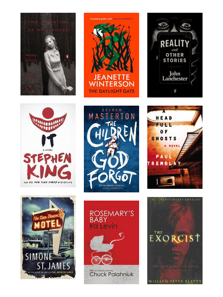 Horror Fiction Reading Guide Christchurch City Libraries