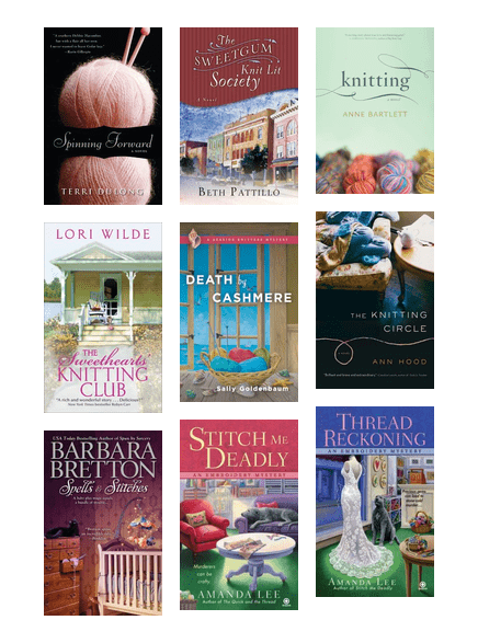 Knitting Crochet And Stitch Mystery Fiction Books Hennepin County