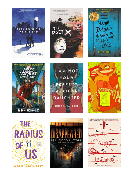 Books for latino teens