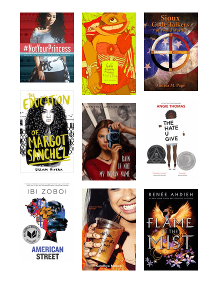 Young Adult Books By Women Of Color Lawrence Public Library