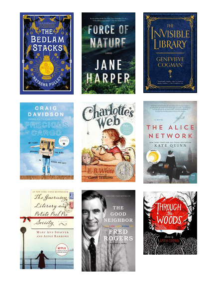 Oakville Public Library staff recommend...