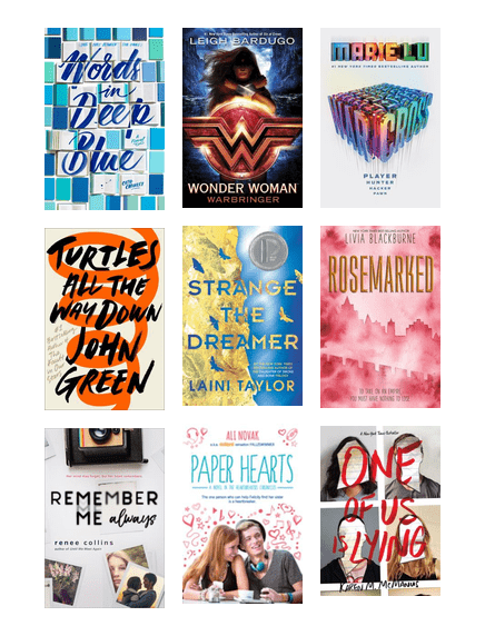 Teens Top Books Of 2018 The Seattle Public Library Bibliocommons