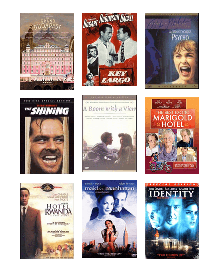A Room With a View: Movies about Motels, Hotels, and Resorts