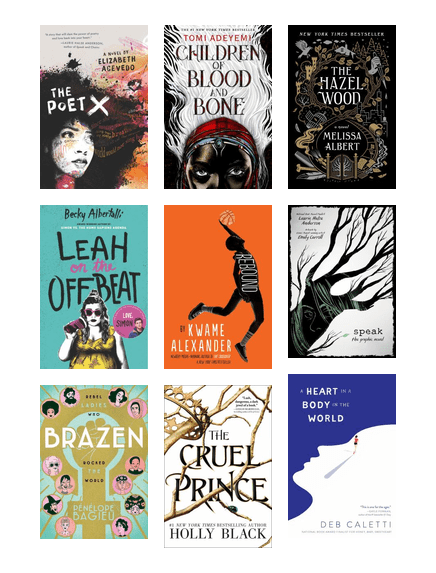 Best Teen Books 2018 King County Library System Bibliocommons