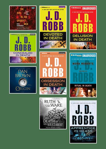 Popular Audiobooks In October 2018 Las Vegas Clark County Library