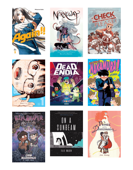 Best Teen Graphic Novels and Manga of 2018 | Chicago Public