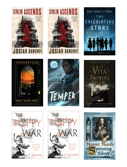 PoMo Picks - Adults - 2018 Best Science Fiction, Fantasy and