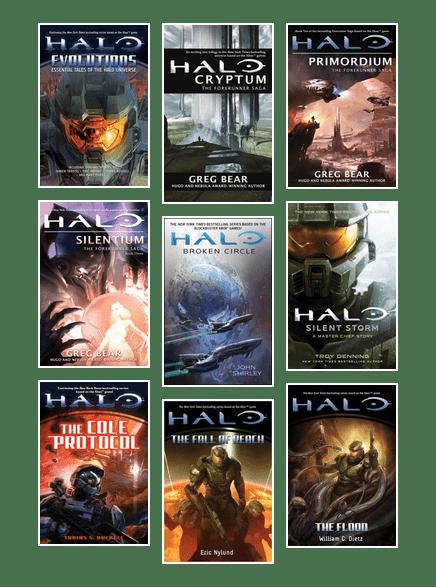Halo Universe books | Gwinnett County Public Library