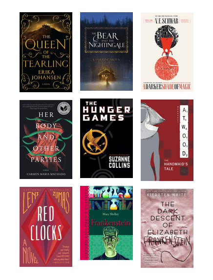 Feminist Fantasy, Sci-Fi, and Dystopian Fiction