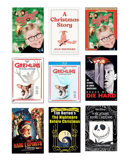 Great Christmas Movies and Books - Lexikal