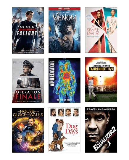 New Movies - Dec  2018 | Central Arkansas Library System | BiblioCommons