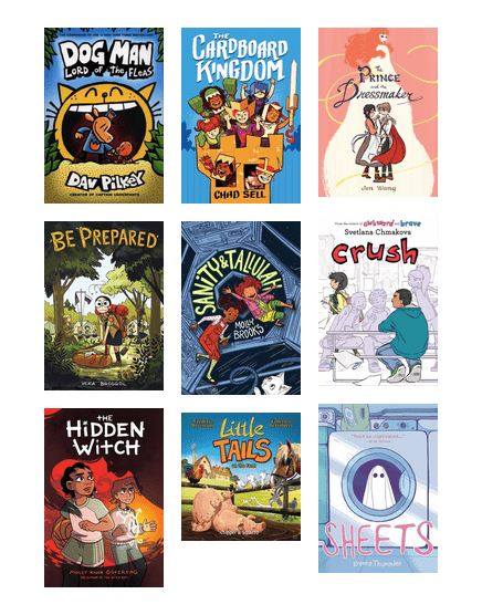 Best Children S Graphic Novels Of 2018 Jefferson County Public Library Bibliocommons
