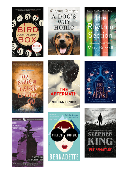 Books To Movies 2019 The Seattle Public Library Bibliocommons