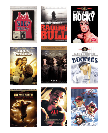 The Best Sports Movies Of All Time Las Vegas Clark County Library District Bibliocommons