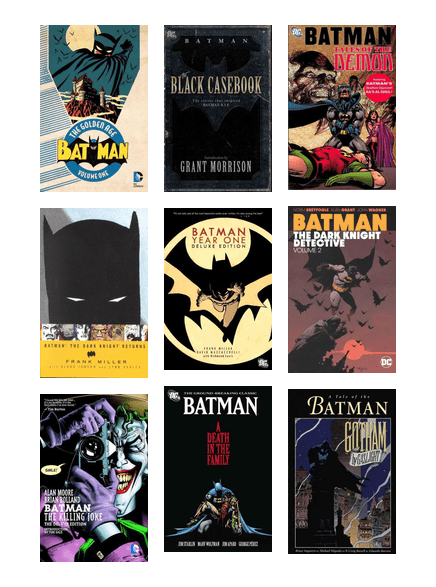 Classic Batman Stories The Indianapolis Public Library Bibliocommons