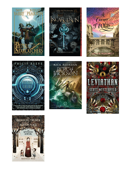 Science Fiction And Fantasy For Middle Schoolers From Multcolib Kids