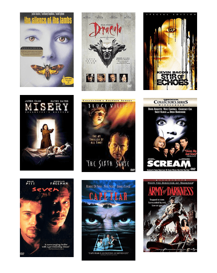 90's horror movies that'll scare you!   Washington County