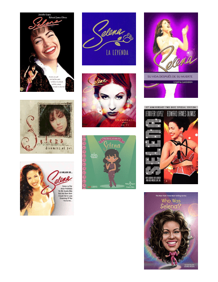 In Honor Of Selena En Recuerdo De Selena Washington County Cooperative Library Services Bibliocommons