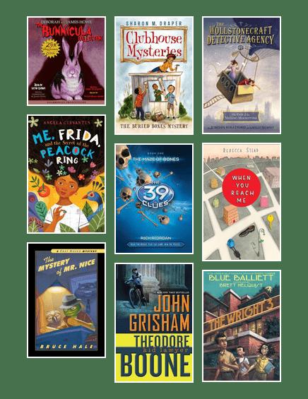 Mystery books for kids (aged 8-12)   San Antonio Public
