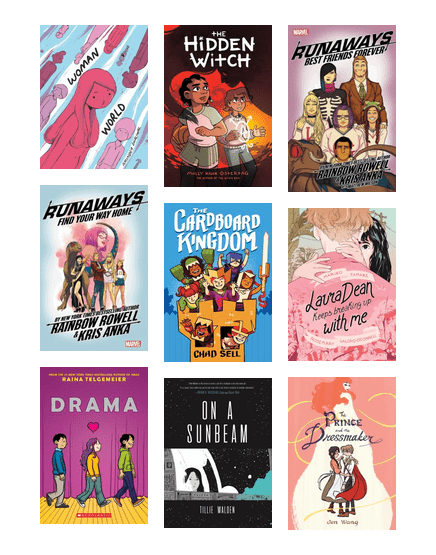 Rainbow Reading List: Graphic Novels