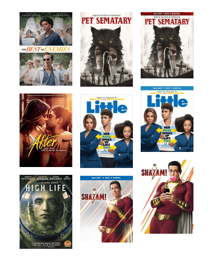 July Movies 2019