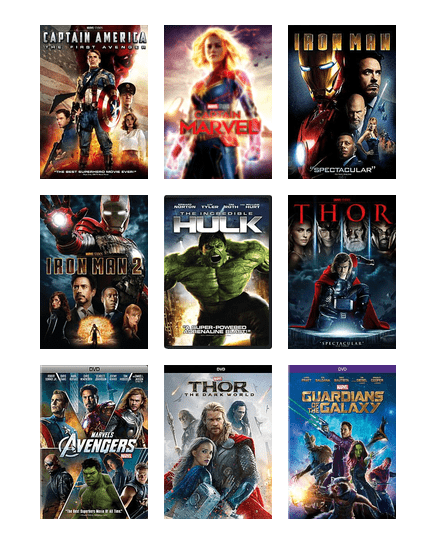 Marvel Movies In Thematic Order Port Moody Public Library Bibliocommons