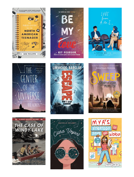 Great YA and middle grade books