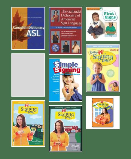 Knowledgable ASL books for teaching young children | Edmonton Public